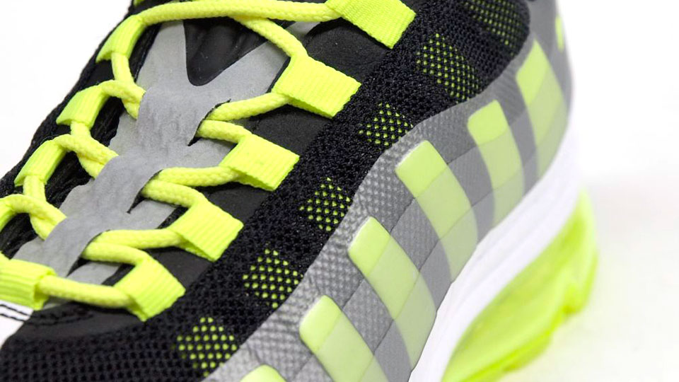 3975573295 Nike Air Max 95+ BB 'Black/Volt-Dark Grey-Wolf Grey'   SneakerFiles