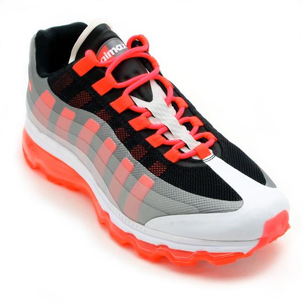 Nike Air Max 95+ BB  White Grey-Infrared   1d73b2d6d7