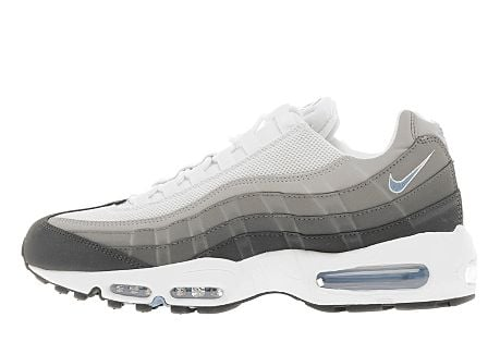 wholesale dealer cce03 0b2f5 Nike Air Max 95  Anthracite University Blue