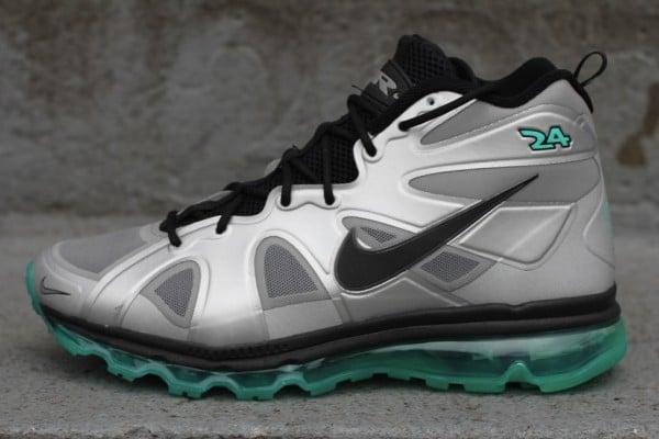 Nike Air Max Griffey Fury 'Metallic Silver/Black-New Green'
