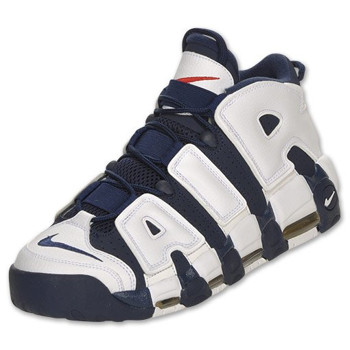 Nike Air More Uptempo 'Olympic' - Now Available