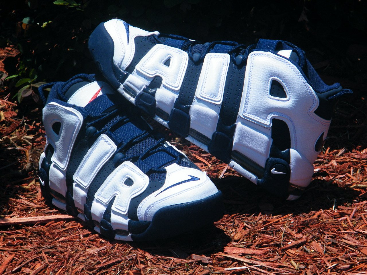 Nike Air More Uptempo 'Olympic' at Rock City Kicks