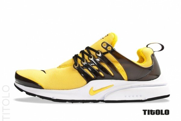 Nike Air Presto 'Black/Tour Yellow-White'