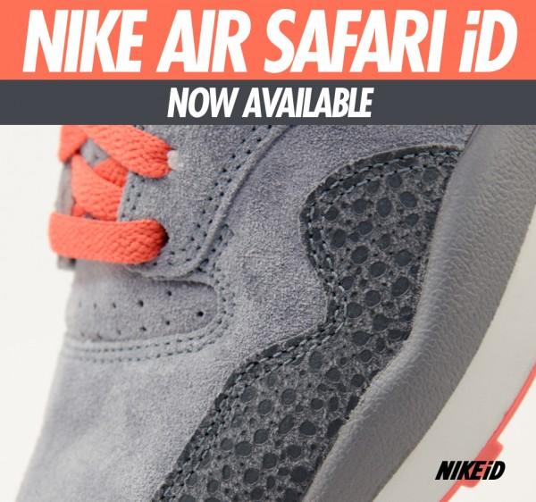 Nike Air Safari iD - Now Available