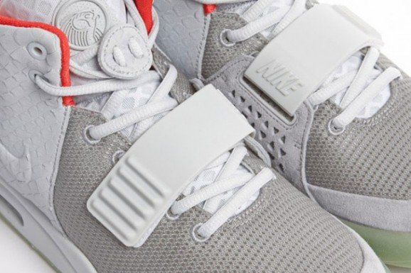 Nike Air Yeezy 2 'Wolf Grey/Pure Platinum' - Another Look