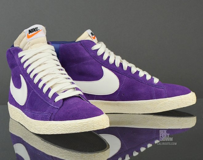 nike blazer purple