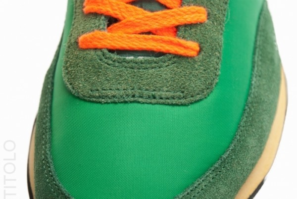 Nike Elite Vintage 'Court Green/Orange'