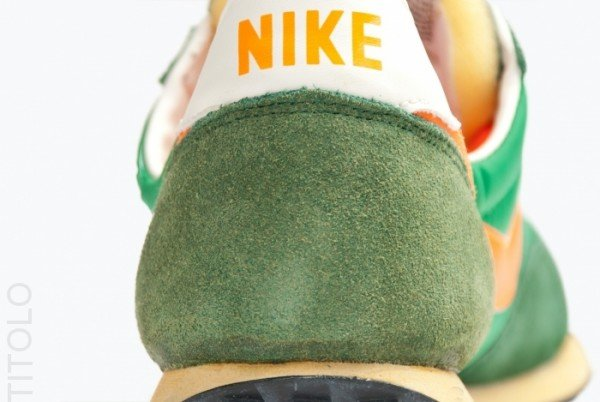 Nike Elite Vintage 'Court Green/Orange'