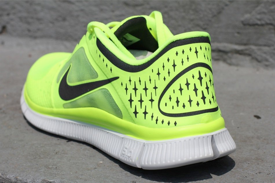 cheap for discount be7d3 50028 Nike Free Run+ 3  Volt    SneakerFiles