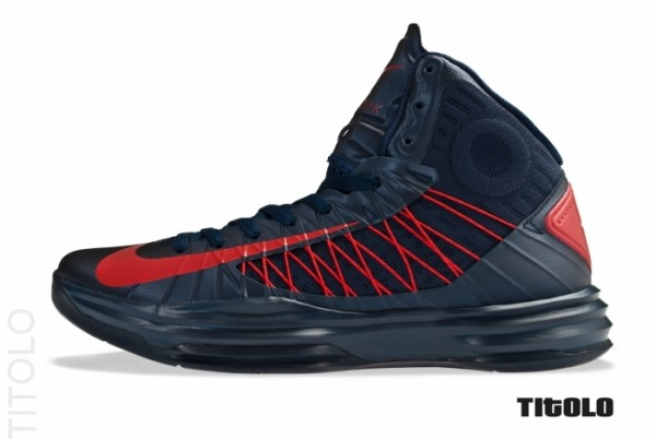 Nike Hyperdunk 'Obsidian/University Red'