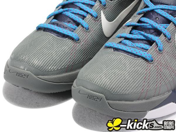 Nike Kobe 7 'Grey/Navy-Maroon-Blue'