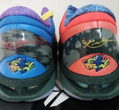 Nike Kobe 7 'What The Kobe' Heel Logo