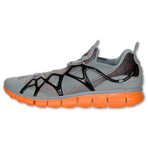 Nike Kukini Free 'Stealth/Total Orange-Black'