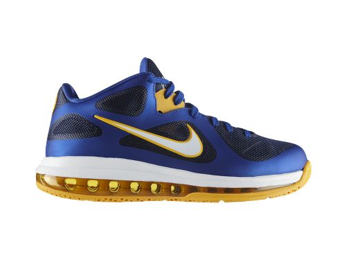 Nike LeBron 9 Low 'Game Royal/University Gold-Midnight Navy'