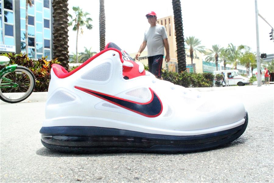 Nike LeBron 9 Low 'USA' at Mr. R Sports