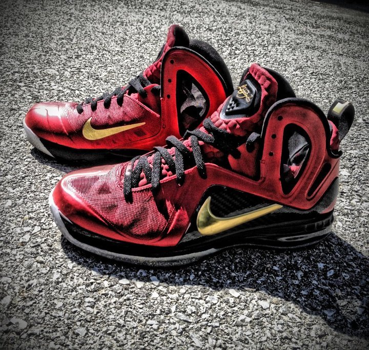 Nike LeBron 9 P.S. Elite 'Finals PE' Custom by Mache