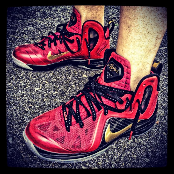 72d1014a5a5 ... discount code for nike lebron 9 p.s. elite finals pe custom by mache  65be2 9588c