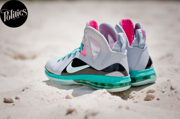 Nike LeBron 9 P.S. Elite 'South Beach' - Final Look