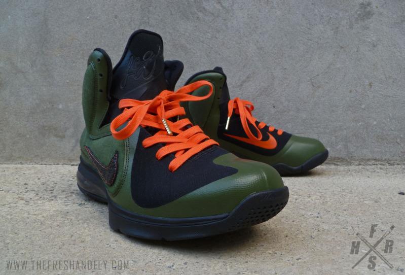 Nike LeBron 9 'UNDFTD' by Fresh & Fly Customs