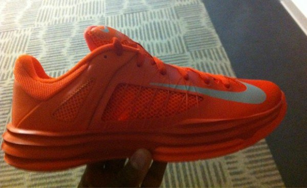 Nike Lunar Hyperdunk 2012 Low 'Orange/Silver'