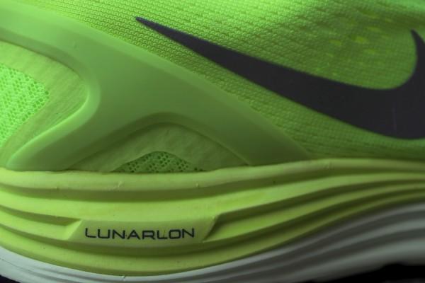 Nike LunarGlide+ 4 'Volt/Reflective Silver-Barely Volt' at Mr. R Sports