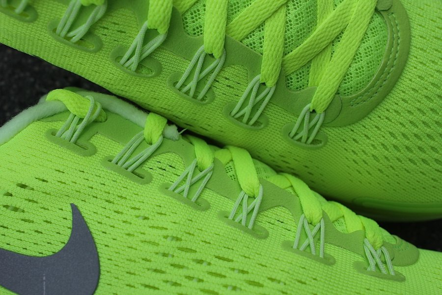 Nike LunarGlide+ 4 'Volt/Reflective Silver-Barely Volt' at Mr. R Sports