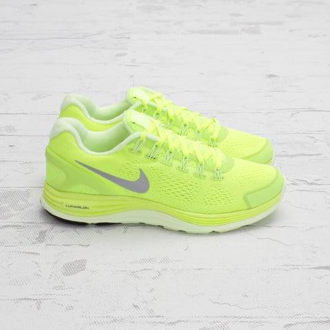 Nike LunarGlide+ 4 'Volt/Reflective Silver' at Concepts