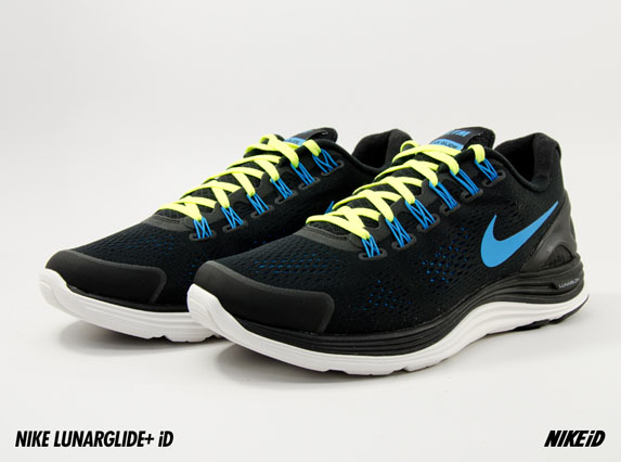 Nike LunarGlide+ 4 iD - Now Available