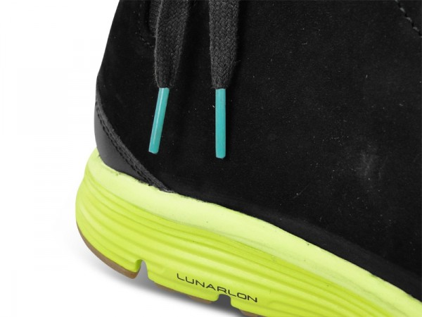 Nike Ralston Lunar Mid TZ 'Black/Volt' at The Good Will Out