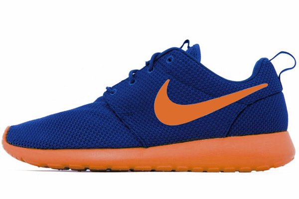 Nike Roshe Run 'Dark Royal Blue/Team Orange'