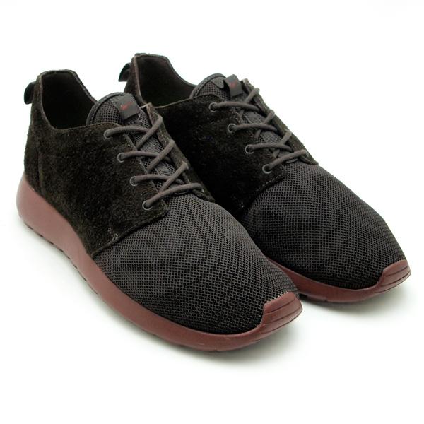 c5ae983a9e810 Nike Roshe Run Premium  Black Brown