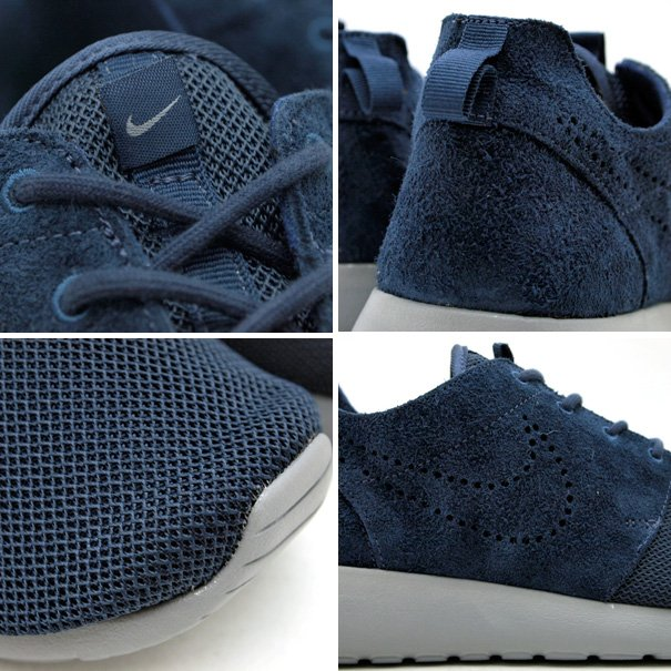 Nike Roshe Run Premium 'Thunder Blue/Stealth' SneakerFiles
