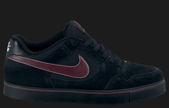 Nike SB P-Rod 2.5 'Black/Deep Burgundy'