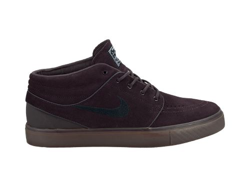 Nike SB Stefan Janoski Mid 'Port Wine/Black-Gum Dark Brown'