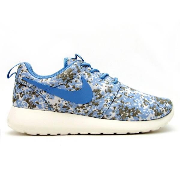 Nike Women's Roshe Run Premium Camo 'Beige/Olive'