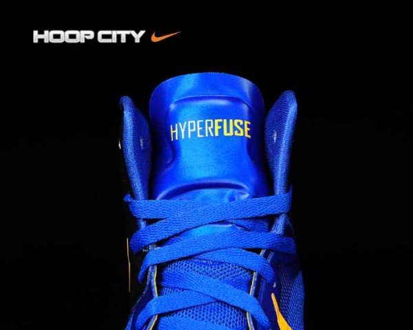 Nike Zoom Hyperfuse 2012 'Game Royal/University Gold-Obsidian' - Another Look