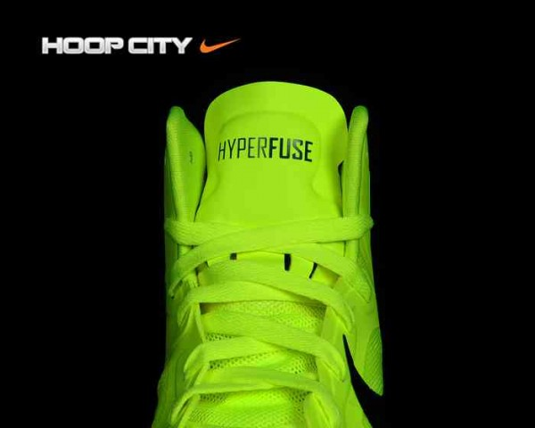 Nike Zoom Hyperfuse 2012 'Volt/Gorge Green'