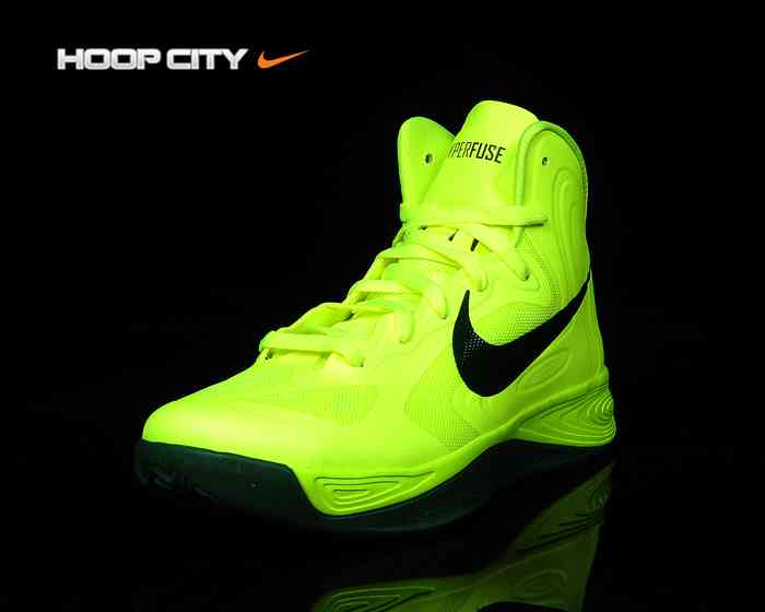 Nike Zoom Hyperfuse 2012  Volt Gorge Green   b165d7ee7042
