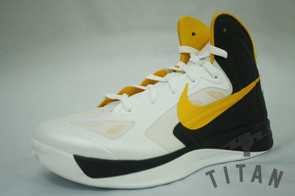 Nike Zoom Hyperfuse 2012 'White/University Gold-Black'
