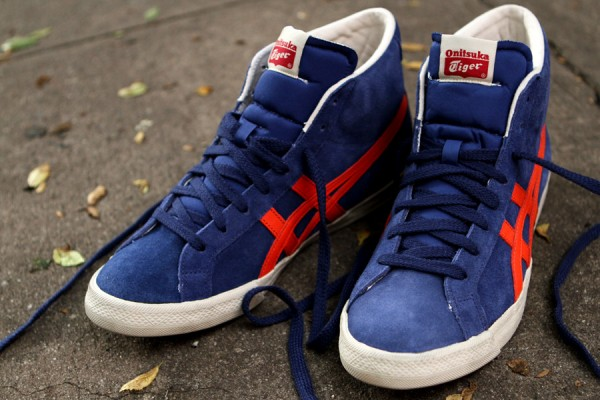 Onitsuka Tiger Fabre 'Navy/Red'