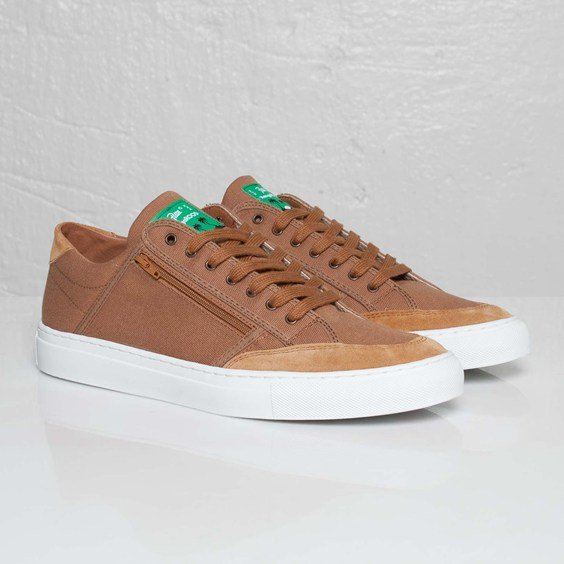 Patta x KangaROOS Tennis Oxford 'Brown'