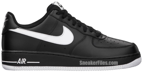 Release Reminder: Nike Air Force 1 Low 'Black/White-Black'