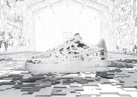 Release Reminder: Nike Air Force 1 Low Premium High-Frequency Digital Camouflage
