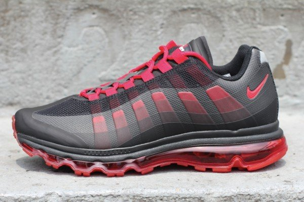 Release Reminder: Nike Air Max 95+ BB 'Black/Sport Red-Anthracite'