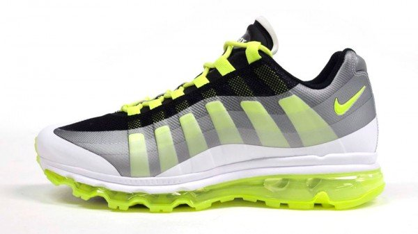 Release Reminder: Nike Air Max 95+ BB 'Black/Volt-Dark Grey-Wolf Grey'