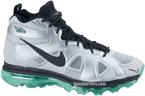 Release Reminder: Nike Air Max Griffey Fury 'Metallic Silver/Black-New Green'