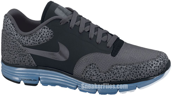 Release Reminder: Nike Lunar Safari Fuse+ 'Black/Anthracite-Dark Grey-Dynamic Blue'