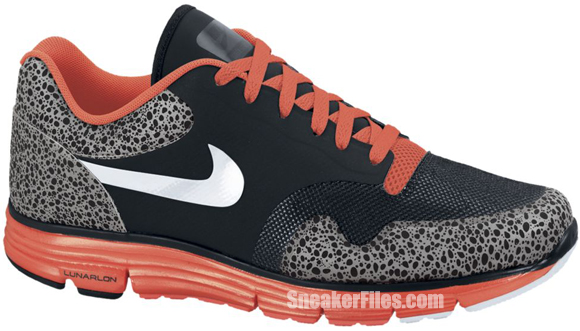 Release Reminder: Nike Lunar Safari Fuse+ 'Black/White-Bright Crimson-Dark Grey'