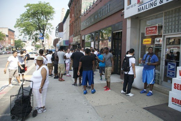 Ronnie Fieg x New Balance 999 'Steel Blue' Release Recap at Kith NYC