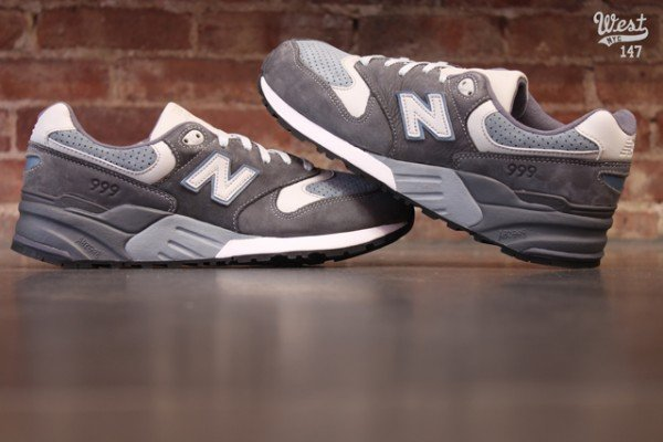 Ronnie Fieg x New Balance 999 'Steel Blue' at West NYC